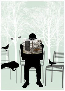 Postkarte von Oli Hummel